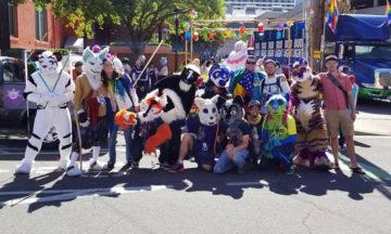 Furries of Utah 2019 Pride Parade