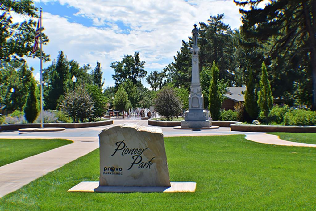 Pioneer Park in Provo, UT