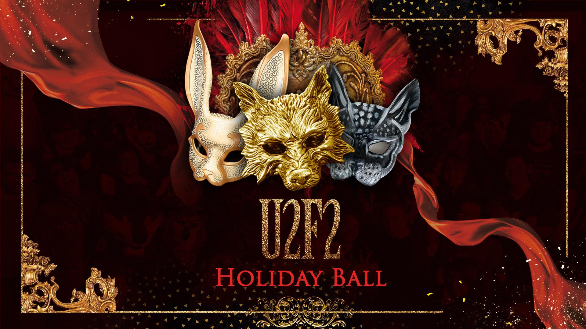 U2F2 Furry Holiday Ball Cover Image
